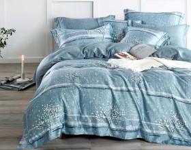 Комплект постельного белья Евро, тенсел 1451-6