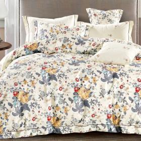 Комплект постельного белья Семейный, печатный сатин 1484-7
