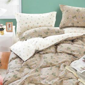 Комплект постельного белья Евро, печатный сатин 1502-6