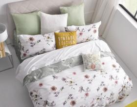 Комплект постельного белья 1,5-спальный, печатный сатин 338-4XS