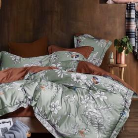 Комплект постельного белья Евро, египетский хлопок 426-6