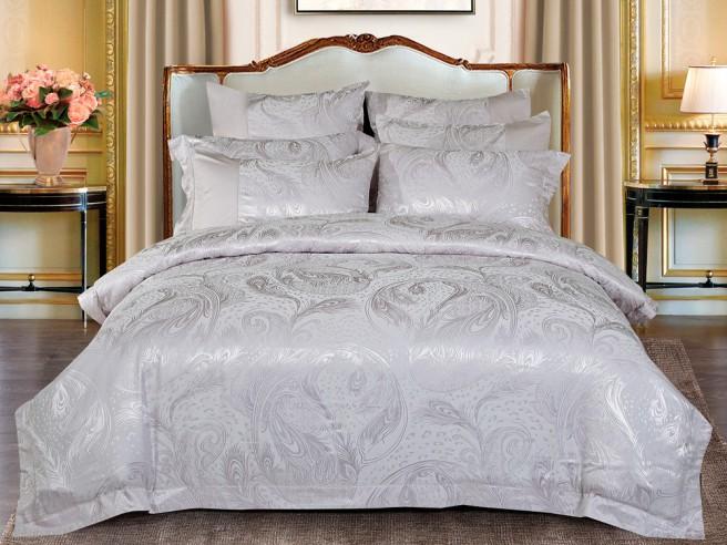 Комплект постельного белья Евро, жаккард 470-4