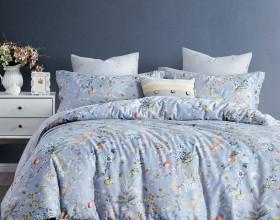 Комплект постельного белья 1,5-спальный, печатный сатин 480-4S
