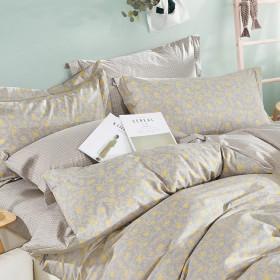 Комплект постельного белья Семейный, печатный сатин 489-7
