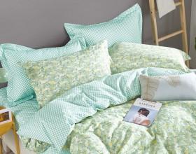 Комплект постельного белья 1,5-спальный, печатный сатин 492-4S