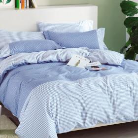 Комплект постельного белья Евро, печатный сатин 501-6