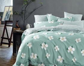 Комплект постельного белья 1,5-спальный, печатный сатин 514-4S
