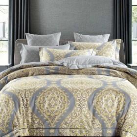 Комплект постельного белья Семейный, печатный сатин 515-7