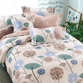 Комплект постельного белья Семейный, печатный сатин 564-7