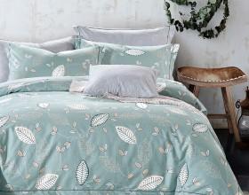 Комплект постельного белья Семейный, печатный сатин 571-7