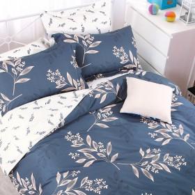 Комплект постельного белья Евро, печатный сатин 579-6