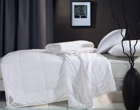 Одеяло шёлковое 155х215 см в хлопке, CS-5