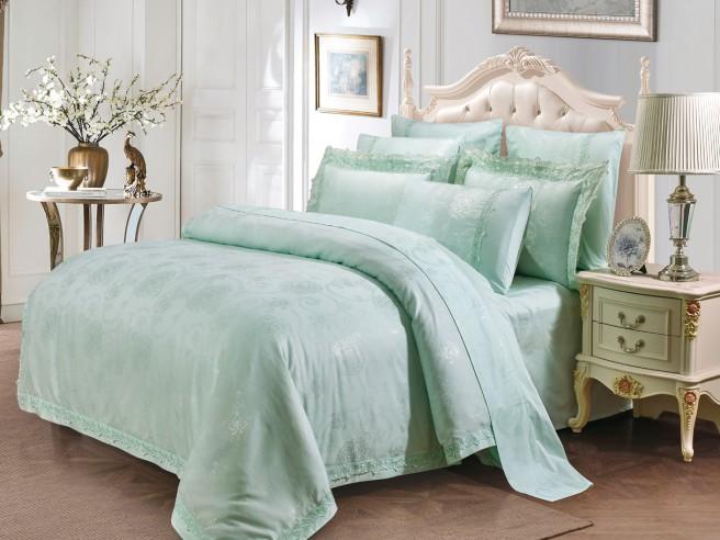 Комплект постельного белья Евро, жаккард 948-4