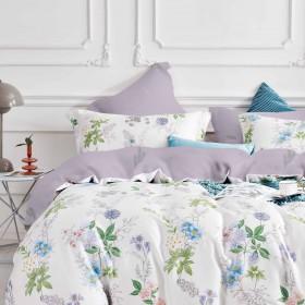 Комплект постельного белья 1,5-спальный, тенсел 1647-4S