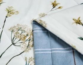 Одеяло ЛЕТНЕЕ тенсел в хлопке 160х220 см, 1481-OS