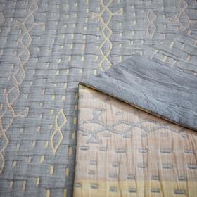 Плед ЛЕТНИЙ хлопковый муслин, наполнитель искусственный шелк 200х220 см, 1513-OM