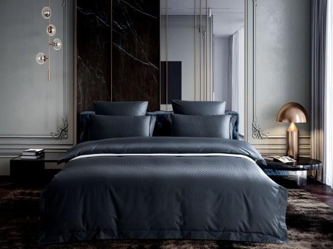 Комплект постельного белья 1,5-спальный, хлопковый жаккард 1515-4S