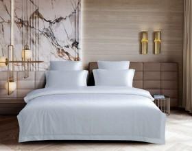 Комплект постельного белья 1,5-спальный, хлопковый жаккард 1516-4S