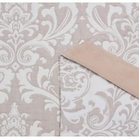 Плед ЛЕТНИЙ хлопковый муслин, наполнитель искусственный шелк 200х220 см, 1650-OM