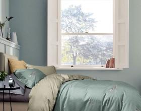 Комплект постельного белья 1,5-спальный, фланель 1657-4S