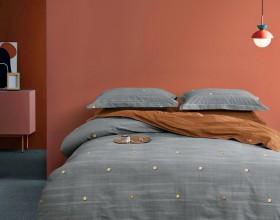 Комплект постельного белья Евро, фланель 1661-6