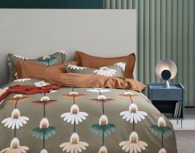 Комплект постельного белья 1,5-спальный, фланель 1666-4S
