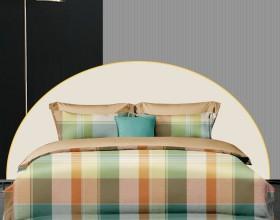 Комплект постельного белья 1,5-спальный, фланель 1675-4S