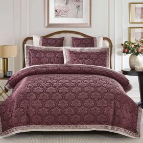 Комплект постельного белья Евро, жаккард 810-4