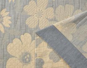 Плед ЛЕТНИЙ хлопковый муслин, наполнитель искусственный шелк 160х220 см, 1622-OS