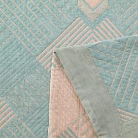 Плед ЛЕТНИЙ хлопковый муслин, наполнитель искусственный шелк 200х220 см, 1624-OM