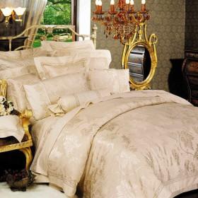 Комплект постельного белья Евро, жаккард 311-4