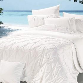 Комплект постельного белья Евро, люкс-сатин 586-4