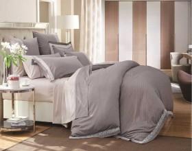 Комплект постельного белья Евро, египетский хлопок 611-4