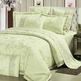 Комплект постельного белья Евро, жаккард 614-4