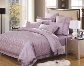 Комплект постельного белья Евро, жаккард 637-4