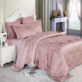 Комплект постельного белья Евро, шёлк 641-6