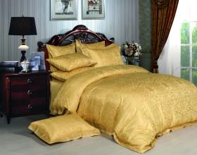 Комплект постельного белья Евро, жаккард 661-4
