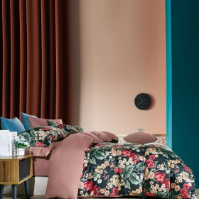 Комплект постельного белья 1,5-спальный, египетский хлопок 1640-4S