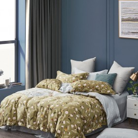 Комплект постельного белья 1,5-спальный, тенсел 1532-4S