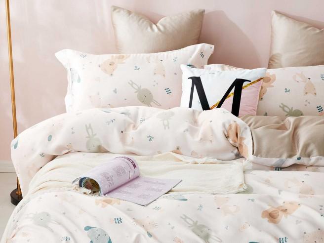 Комплект постельного белья 1,5-спальный, тенсел 1304-4XS