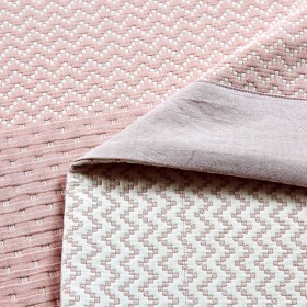 Плед ЛЕТНИЙ хлопковый муслин, наполнитель искусственный шелк 200х220 см, 1390-OM