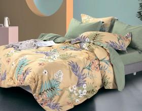 Комплект постельного белья Евро, фланель 1416-6
