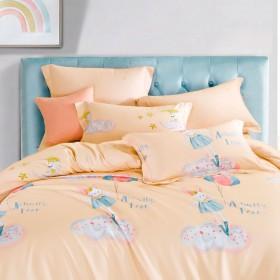 Комплект постельного белья 1,5-спальный, фланель 1419-4S