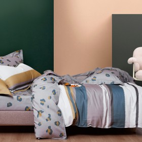 Комплект постельного белья Евро, фланель 1427-6