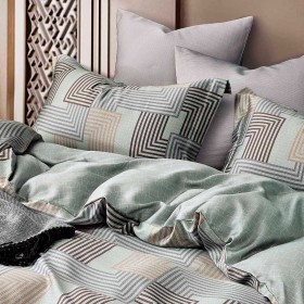 Комплект постельного белья Евро, тенсел 1446-6