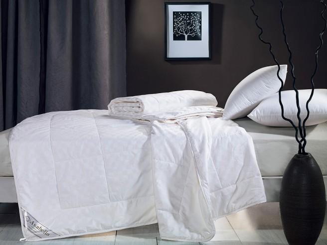 Одеяло шёлковое 200х220 см в хлопке ЗИМНЕЕ, CS-3Z