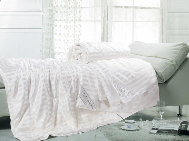 Одеяло шёлковое 160х220 см в шёлке, S-7
