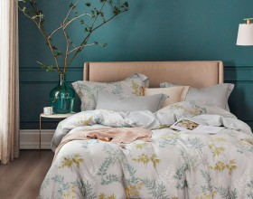 Комплект постельного белья 1,5-спальный, тенсел 1630-4S