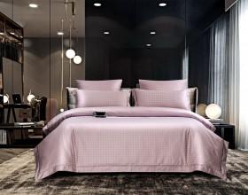 Комплект постельного белья 1,5-спальный, хлопковый жаккард 1644-4S