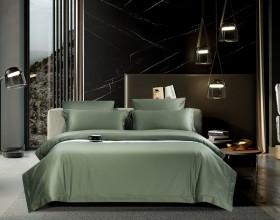 Комплект постельного белья 1,5-спальный, хлопковый жаккард 1646-4S